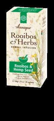 Annique Rooibos & Hemp Seed Tea 50g (20 Bags)