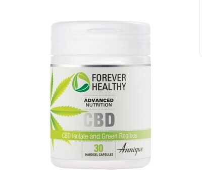 Annique CBD Isolate & Green Rooibos 30 hardgel capsules