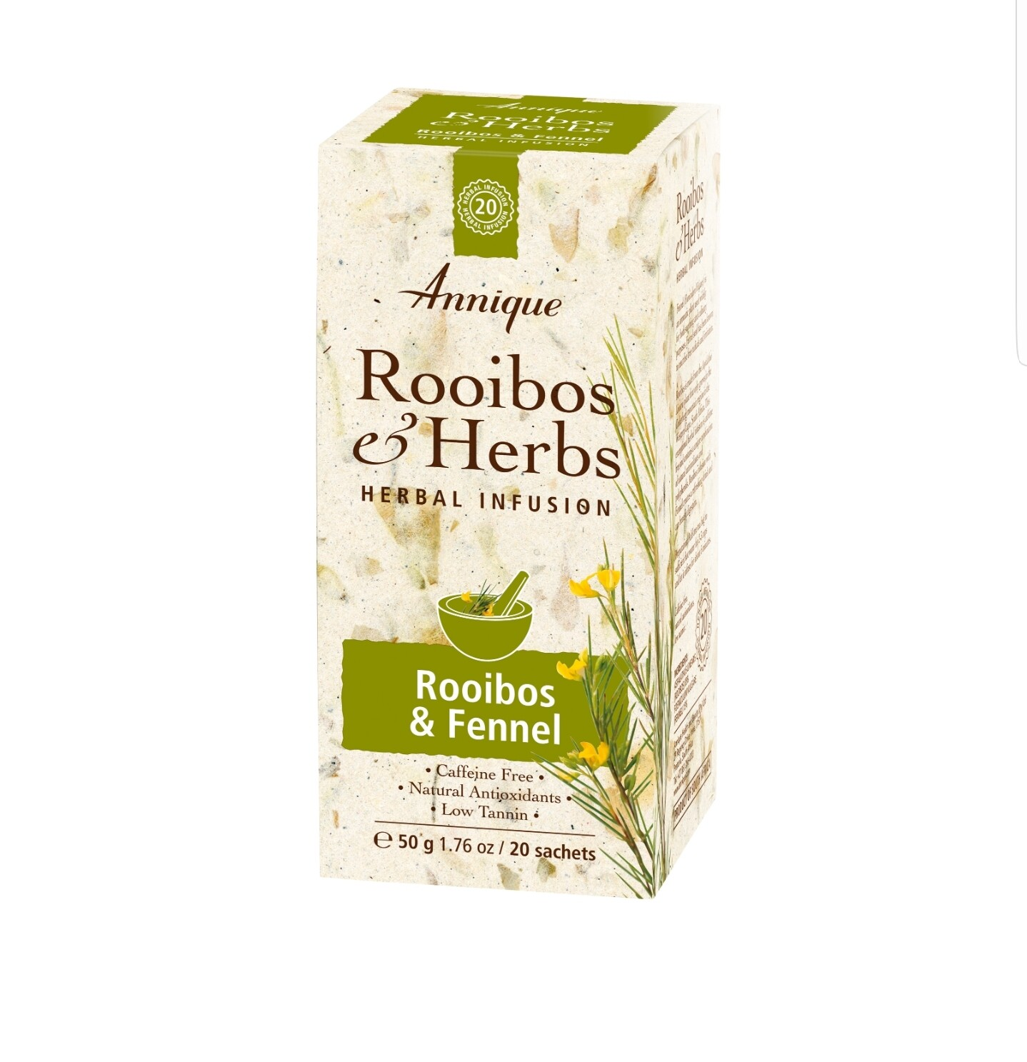 Annique Rooibos & Fennel Tea (Previously Metabolism Tea) 50g | 20 Bags