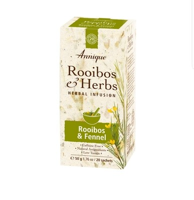 Annique Rooibos & Fennel Tea (Previously Metabolism Tea) 50g | 20 Bags [Get One Free Tea]