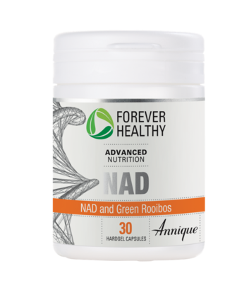 Annique Forever Healthy NAD and Green Rooibos 30 Hardgel Capsules