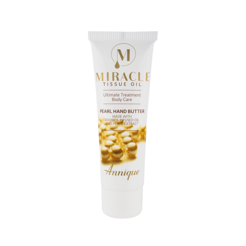 Annique Miracle Tissue Oil Pearl Butter Hand Cream 50ml