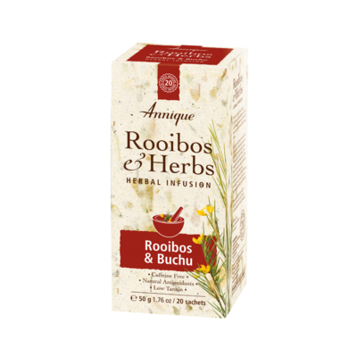 Annique Rooibos and Buchu (Previously Bladder and Kidney with Mountain Buchu) Herbal Tea 50g | 20 Bags