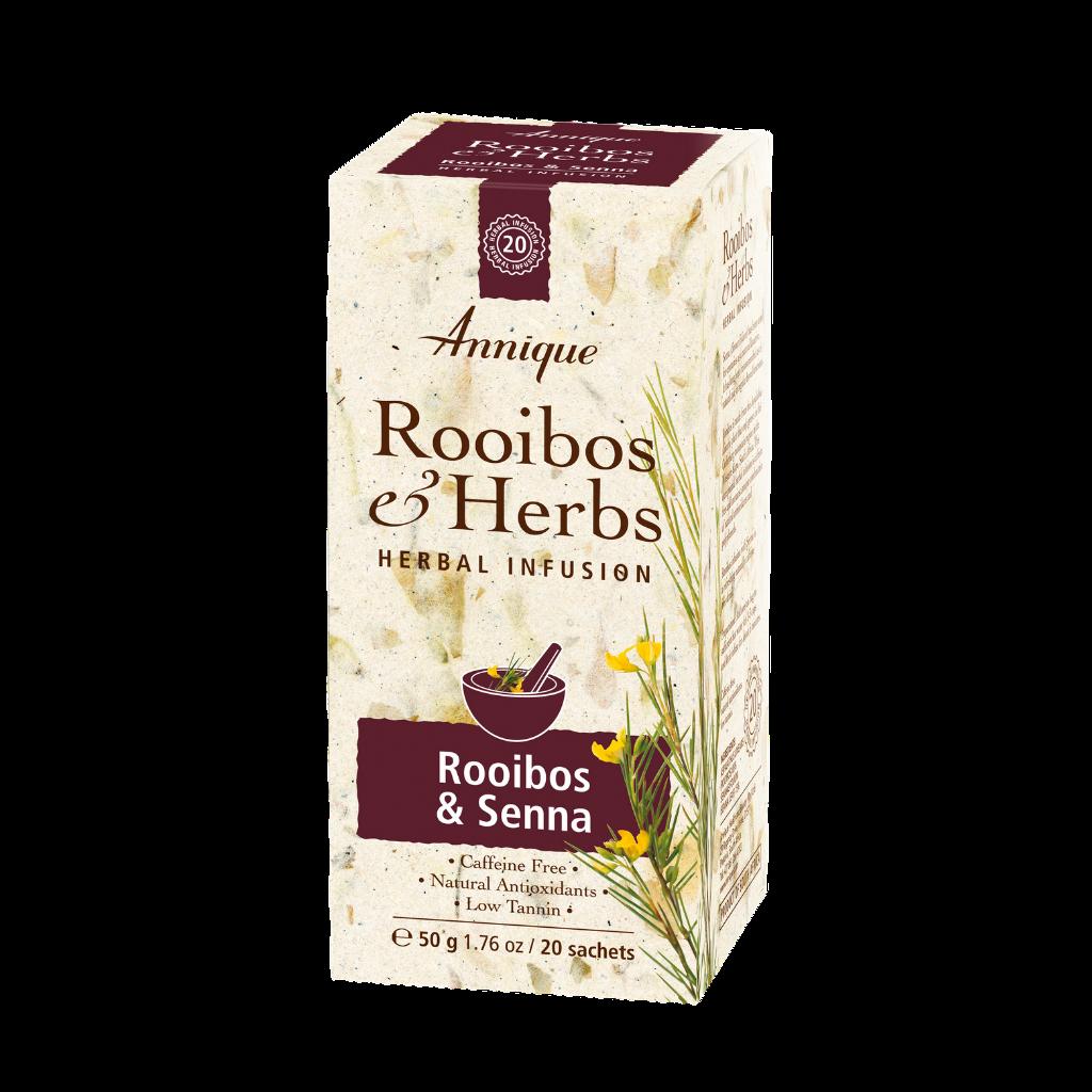 Annique Rooibos Senna Tea (Previously Colon Cleanse Tea with Sennae Folium) Herbal Tea 50g   20 Bags