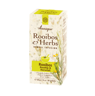 Annique's Rooibos, Rosehip & Horsetail Tea 50g (20 bags)
