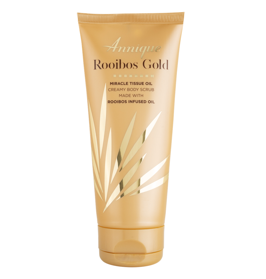 Annique Rooibos Gold Miracle Tissue Oil Gold Creamy Body Scrub 200ml