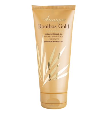 Annique Rooibos Gold ​Miracle Tissue Oil Gold Creamy Body Scrub 200ml