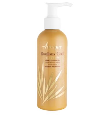 ​Annique Rooibos Gold Miracle Tissue Oil Gold Hand and Body Wash 200ml