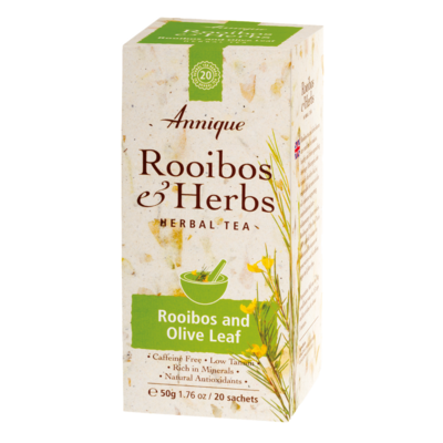 Annique Rooibos and Olive Leaf Tea 50g - 20 Tea Bags