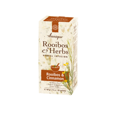 Annique Rooibos and Cinnamon Tea (Previous Balance Tea [Cinnamon]) 50g | 20 Tea Bags