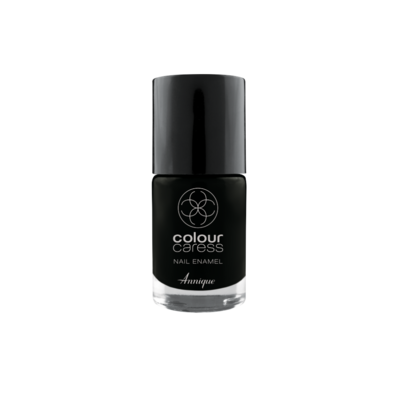 Annique Colour Caress Limited Edition Black Nail Enamel 10ml