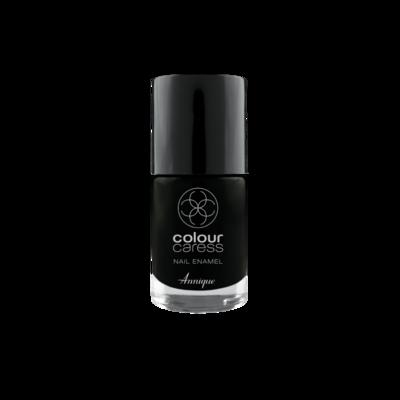 Annique Colour Caress Limited Edition Black Nail Enamel 10ml