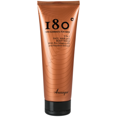 Annique 180° 3-in-1 Face, Hair & Body Wash 250ml