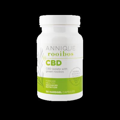 Annique CBD Isolate & Green Rooibos 30 hardgel capsules