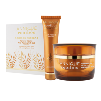 Annique Forever Young Gift Set - Revitalising Cream 50ml with Free Forever Young Anti-Ageing Serum 30ml