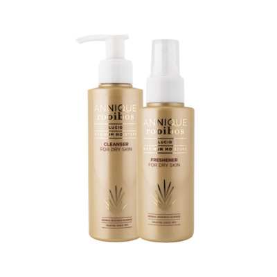 Annique Lucid Cleanser 150ml (Previously Calming Cleansing Crème) [Paraben Free] with free Lucid Freshener 100ml