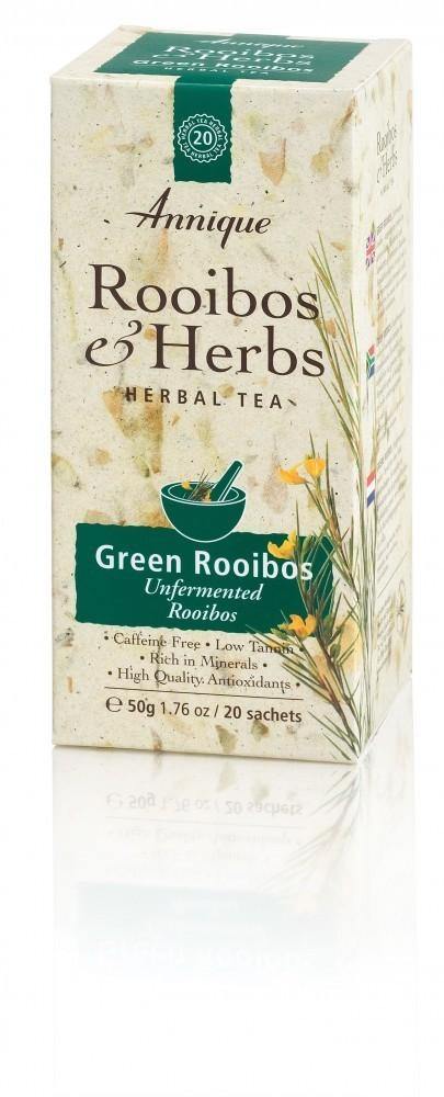 Annique Green Rooibos Tea (Unfermented Rooibos) 50g   20 Bags