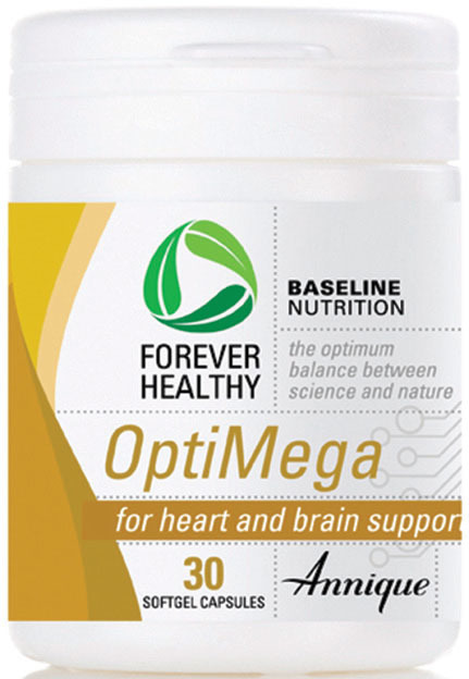 Annique Forever Healthy OptiMega - Heart and Brain support 30 Capsules