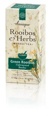 Annique Green Rooibos Tea (Unfermented Rooibos) 50g | 20 Bags