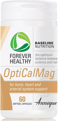 Annique Forever Healthy OptiCalMag - Bone, Heart and Arterial support 60 capsules