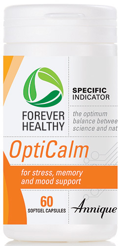 Annique Forever Healthy OptiCalm - Stress, Memory, Mood Support  [60 Capsules]