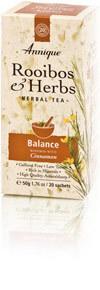 Annique Rooibos and Cinnamon Tea (Previous Balance Tea [Cinnamon]) 50g | 20 Tea Bags