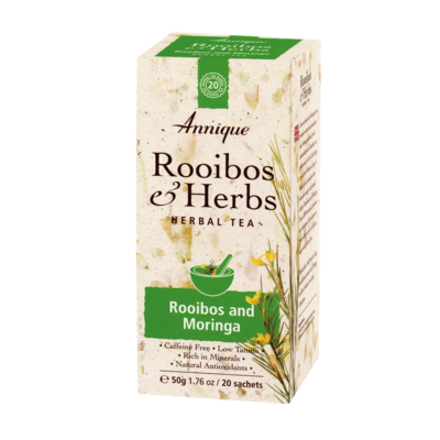 Annique Rooibos and Moringa Tea 50g | 20 Bags [Get 1 Free Tea]