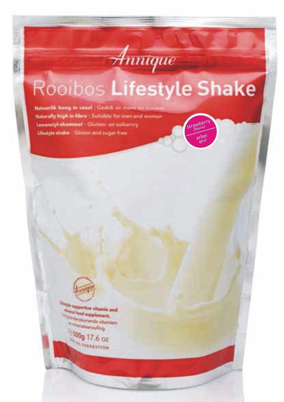 Annique Strawberry Lifestyle Shake 500g