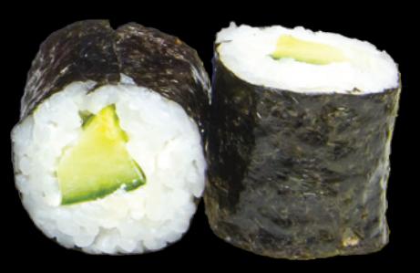 25. Maki Concombre & cheese (6pcs)