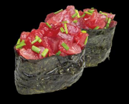 11. Sushi Tartare de thon (2pcs)