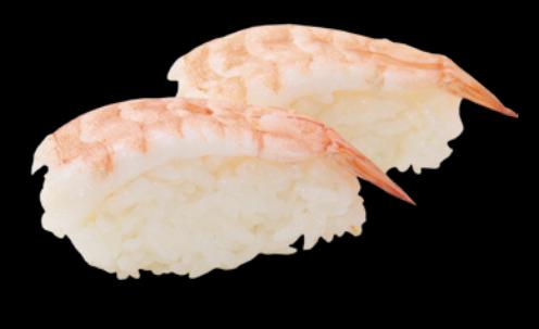 12. Sushi Crevette (2pcs)