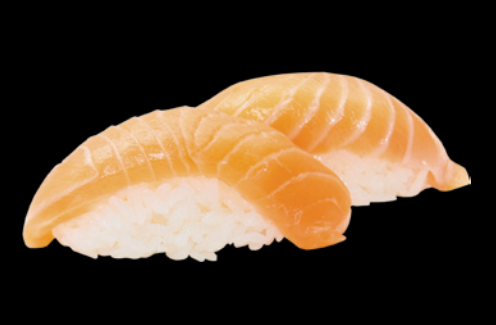 8. Sushi Saumon (2pcs)