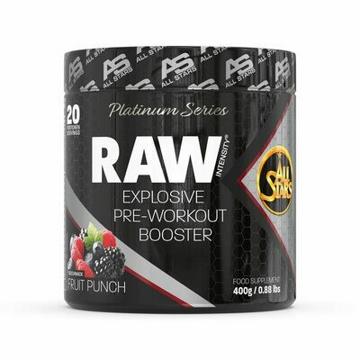 ALL STARS Raw Intensity Pre Workout Booster - Platinum Series
