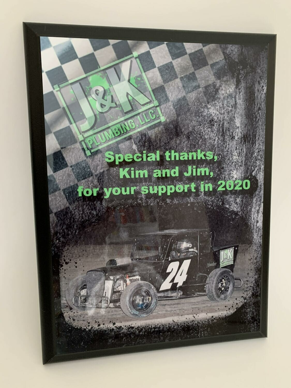Sponsor Plaque - 8x10