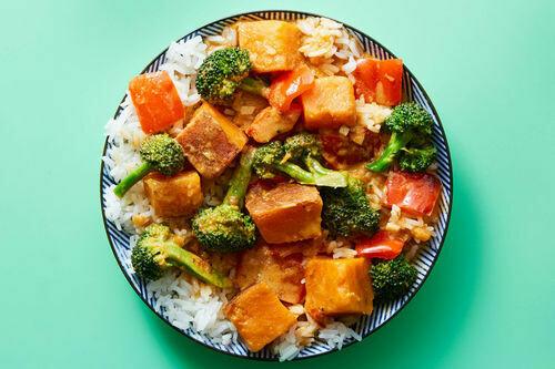 Coconut Curry Veg Dinner