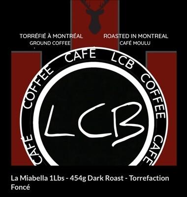 La Miabella 454G - Torrefaction Foncé