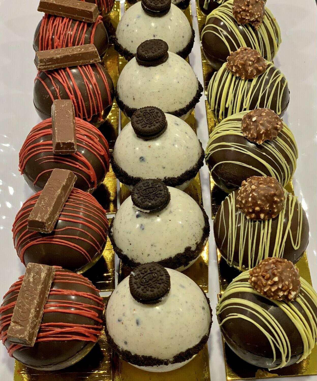 Bombes Au Chocolat Chaud