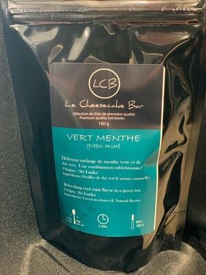 Thé Vert- À La Menthe