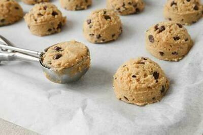 6 Biscuits Morceaux De Chocolat Surgelé à Cuire