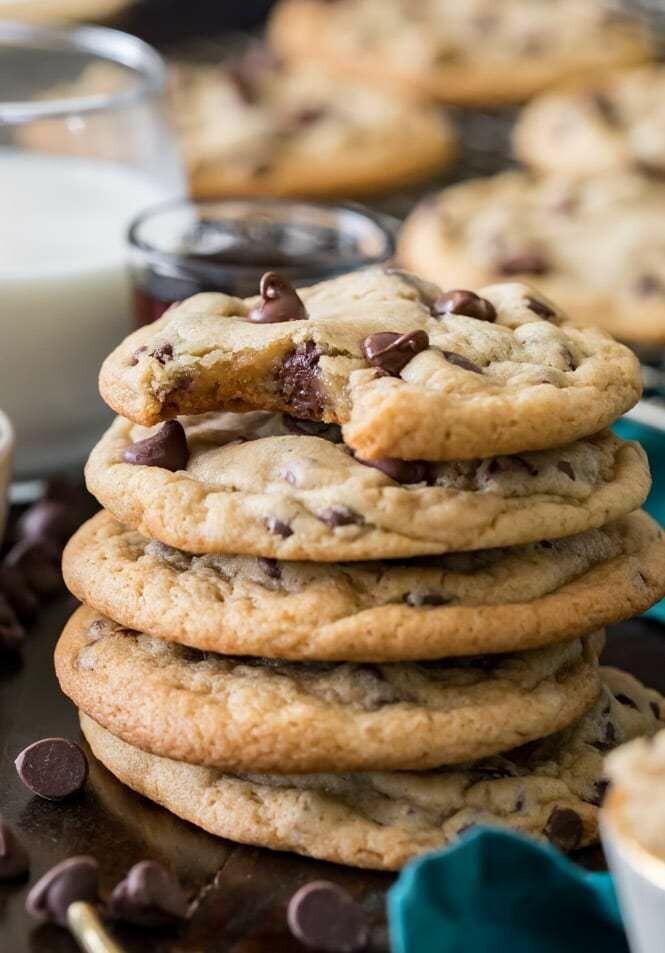 6 Biscuits Aux Morceau De Chocolat