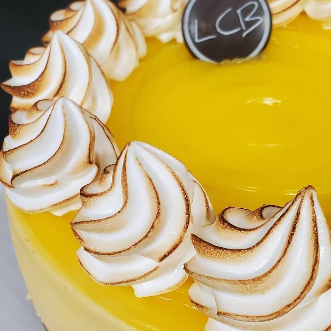 """Meringue Au Citron 8"""" SANS GLUTEN"""