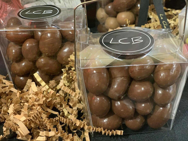 Panier Amandes Chocolat Au Lait Bleuets