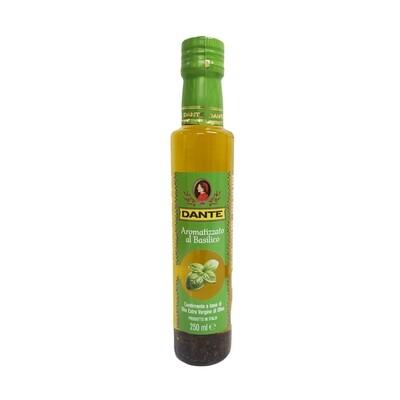 Huile D'Olive Extra Vierge Basilic