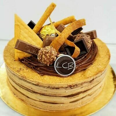 """OMG Nutella Crêpe Au Fromage Crémeux 8"""""""