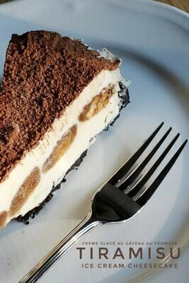 Gâteau Crème Glacée Tiramisu