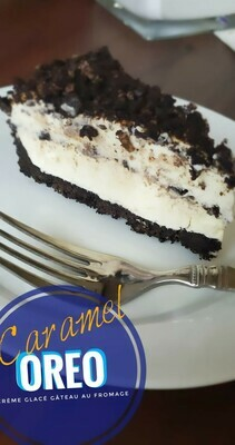Gâteau Crème Glacée Caramel Oreo