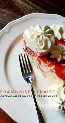 Gâteau Crème Glacée Framboise Fraise