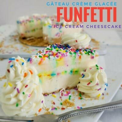 Gâteau Crème Glacée Funfetti