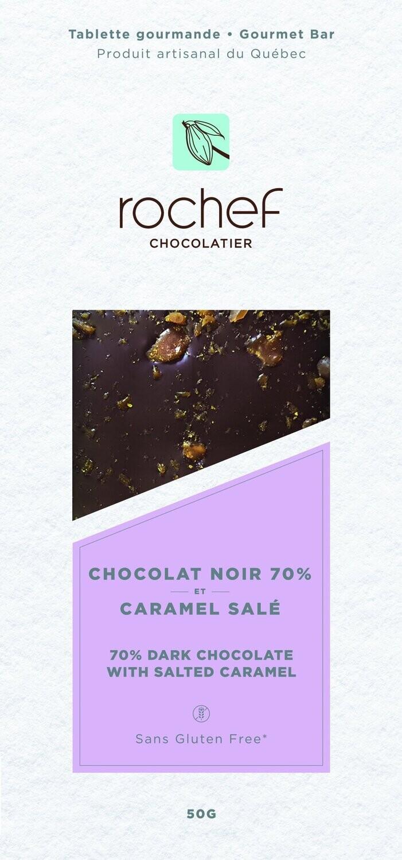 Rochef Chocolat Noir & Caramel Salé