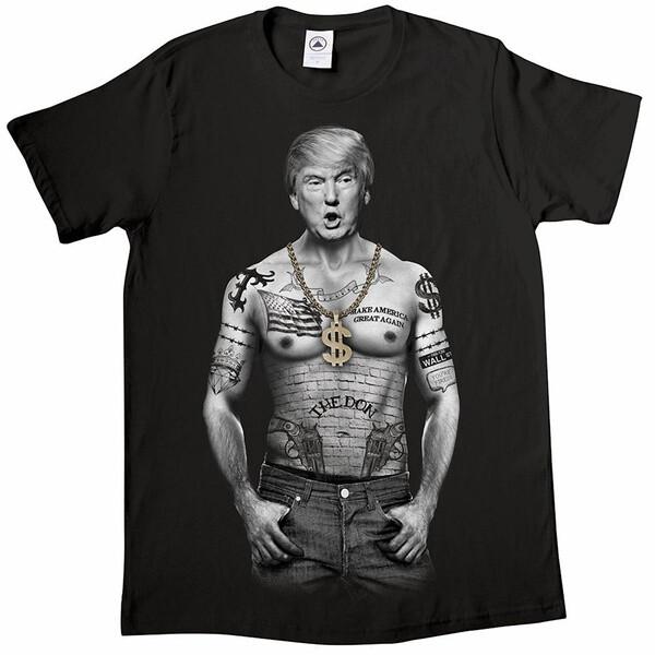 Mens Gangsta Trump TShirt